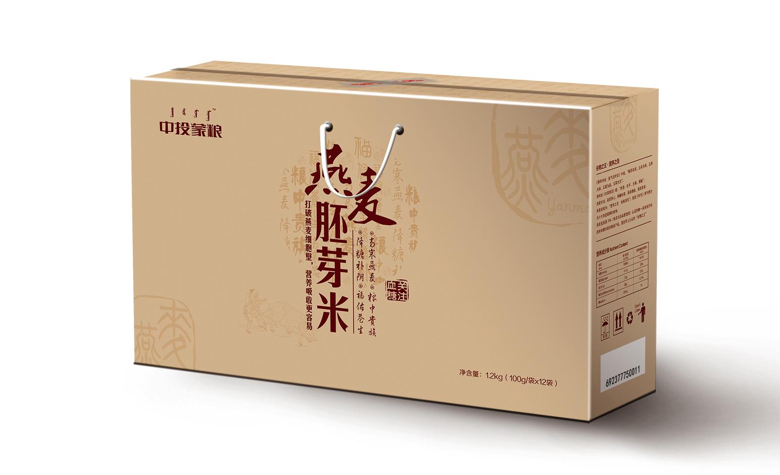中投蒙粮 · 燕麦胚芽米